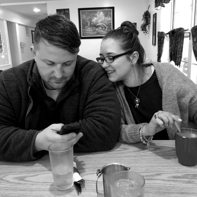 Taylor and Kim we break fast Feb 2016